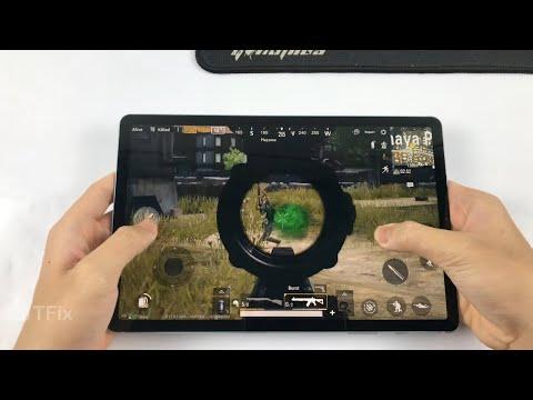 Samsung Galaxy Tab S6 Test Game PUBG Mobile RAM 6GB  | Snapdragon 855, Battery Test On Tab S6