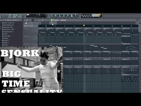 Bjork - Big Time Sensuality - FL Studio