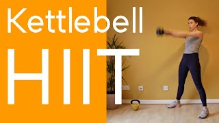 Kettlebell HIIT | Full Body Workout