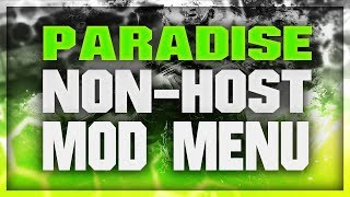 "❖[Bo2] ""Paradise CRACKED Best Free Non-Host SPRX Menu"" + Free Download 