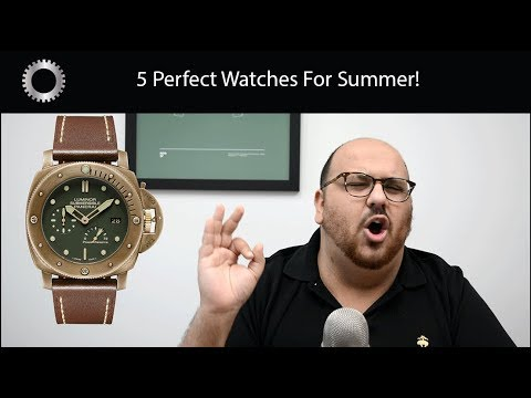 5 Perfect Watches For Summer ! - Federico Talks Watches