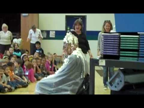 Holland Heights Elementary Sundae Principal Topped off by De