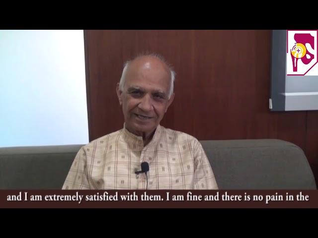 Dr Pranav Shah   Patient Kishor Gandhi   Testimonial