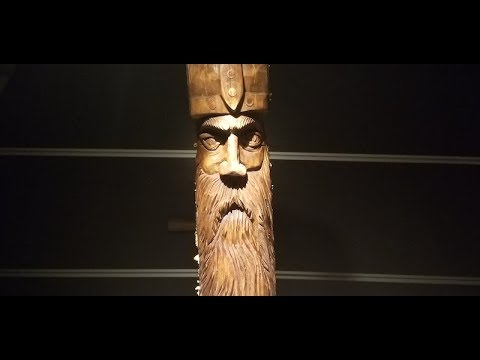 Carving Wood Spirit / Viking / Warrior - Full carving and finish treatment.