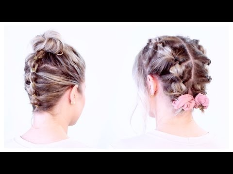 super-cute-updos-for-short-hair-|-milabu