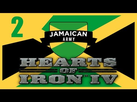 Hearts of Iron IV - Modern Day Jamaica #2
