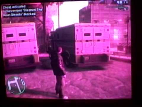 GTA 4 Money Truck spawn glitch - YouTube