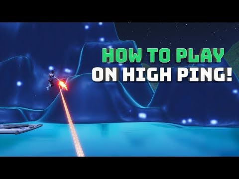 How To Play On High Ping! - (Fortnite Battle Royale!)