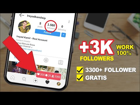 GRATIS! CARA MENAMBAH FOLLOWERS INSTAGRAM
