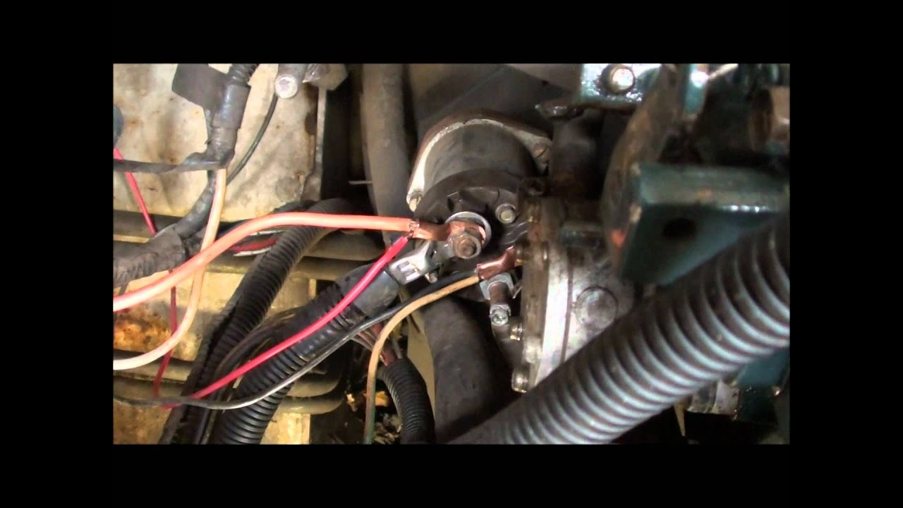 John Deere 318 Starter Wiring Diagram 24 Volt Bobcat 743 Glow Plug Replacement Part 2 - Youtube