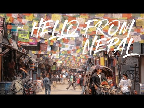 2 Minute Daily Travel Vlog || Nepal - Hello From Nepal