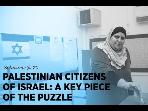 Breakout: Palestinian Citizens of Israel: A Key Piece of the