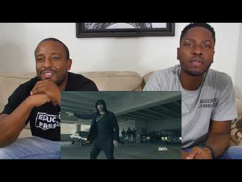 Eminem Donald Trump BET Cypher Freestyle Reaction