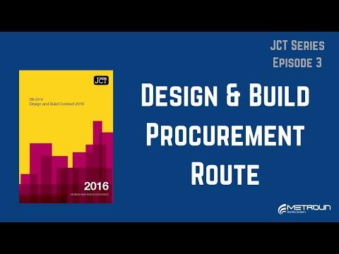 The JCT Design and Build Procurement Route