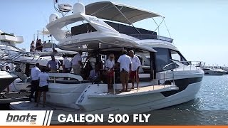 Galeon 500 Fly: First Look Video