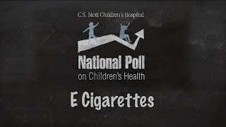 Adults concerned e-cigarettes will encourage kids to take up smoking tobacco