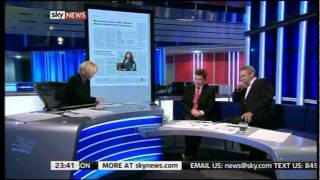 Sky News presenters up Live on TV