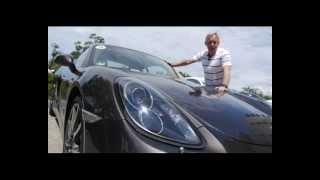 Тест-драйв Porsche Cayman в Новороссийске.  Программа Автомобиль.16.06.13