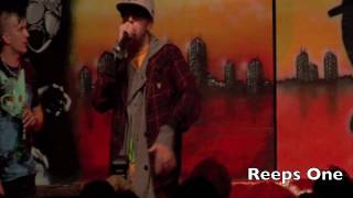 THePETEBOX Vs Reeps One - Grand Final - 2009 Vauxhall UK Beatbox Championships