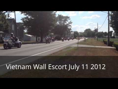 Bascom Ohio Vietnam Wall Escort