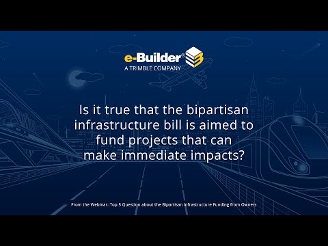 Q3: Top 5 Questions Answered About the Bipartisan Infrastructure Bill