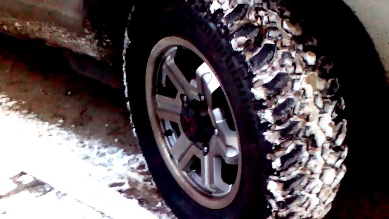 Тест ШНивы Cordiant OFF-ROAD 205/75 R15 - YouTube