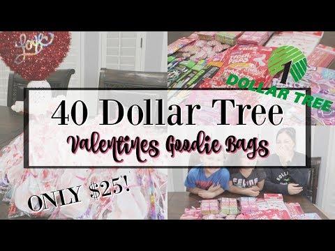 40 Dollar Tree Valentines Goodie Bags   Goodie Bags Ideas