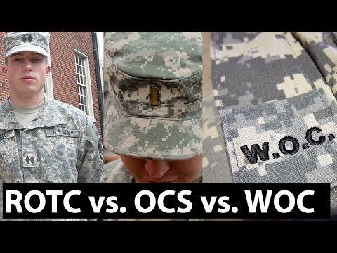 Army ROTC vs  OCS vs  Warrant Officer | Which One Should You Choose?
