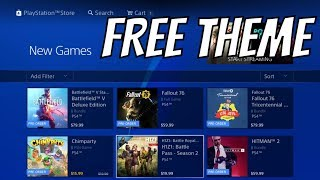 NEW FREE PS4 THEME - PS4 PRE ORDERS