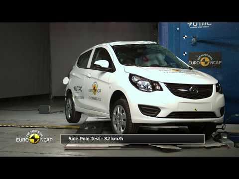 Euro NCAP Crash Test Of Opel Karl