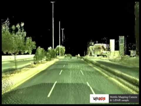Mobile Mapping Camera & LiDAR sample