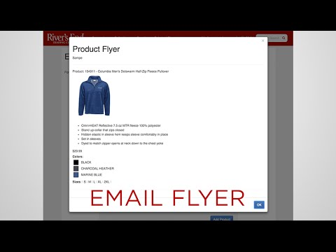 how to create an email flyer youtube