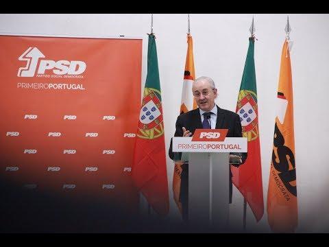 Intervenção de Rui Rio na Tomada de Posse da JSD e PSD do distrito de Setúbal