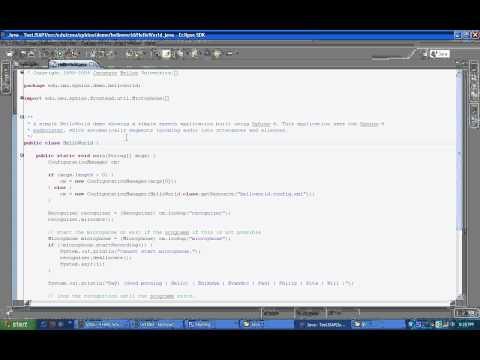 Speech Recognizer In Java - Sphinx 4 [HD]