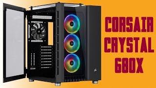 [Cowcot TV] Présentation boitier PC CORSAIR CRYSTAL 680X