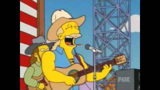 Watch Simpsons America i Love This Country video