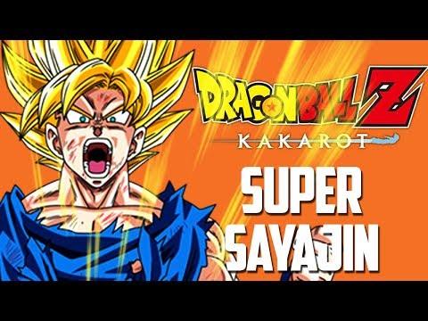 Dragon Ball Z Kakarot #8 - O lendário SUPER SAYAJIN