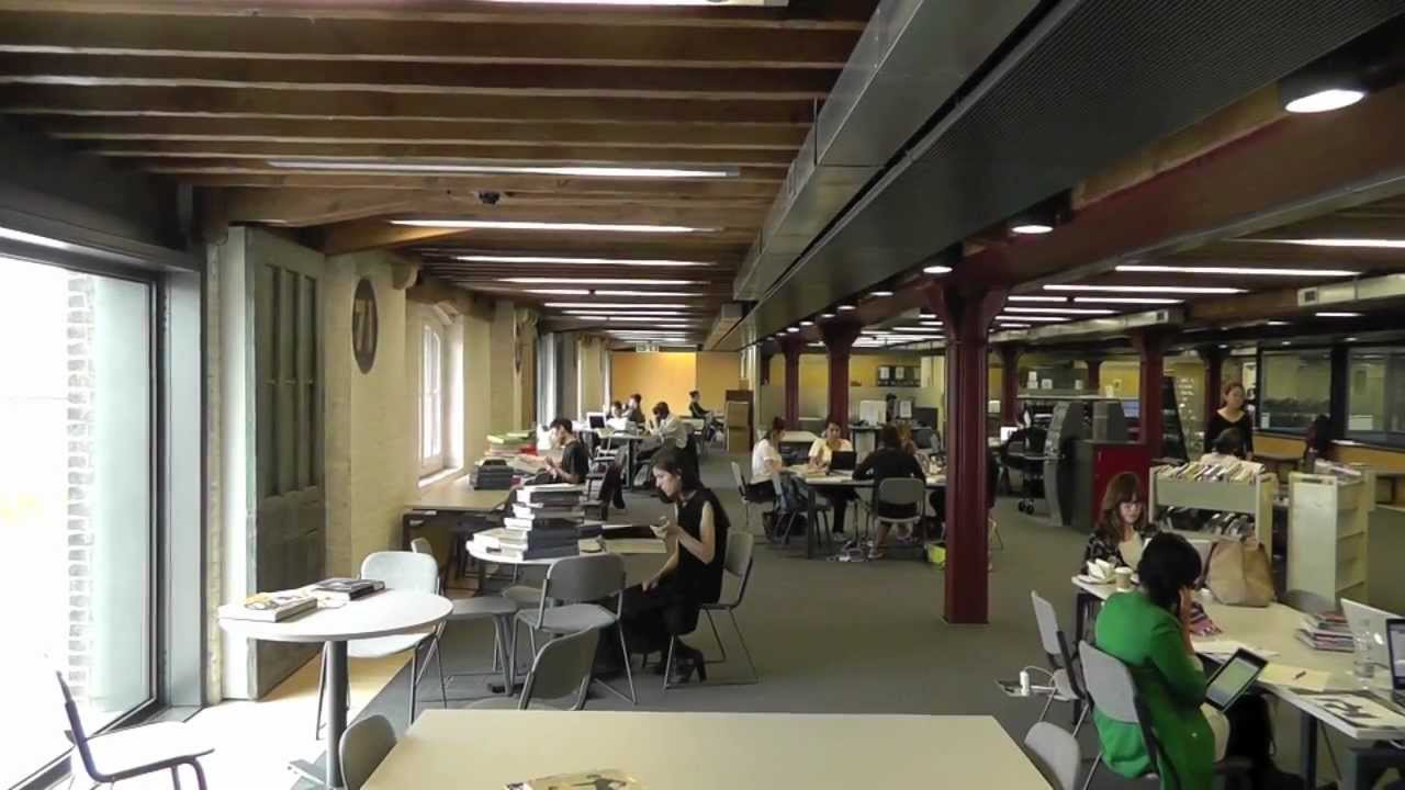St Martins School >> Welcome to Central Saint Martins College of Arts & Design Library - YouTube