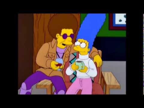 Disco Stu tries to pick up Marge