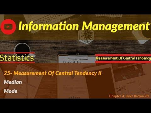 Information Management (measurement part 3)