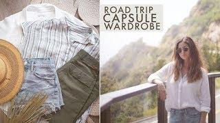 Travel Capsule Wardrobe For A Road Trip Through Santa Cruz & Big Sur, CA | Alli Cherry