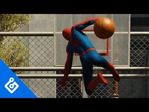 Sick Stunts In Spider-Man