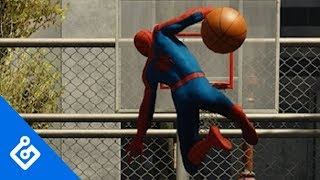Sick Stunts In Spider-Man
