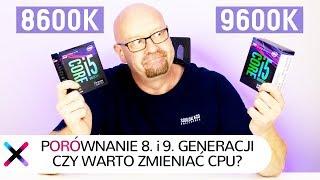i5-8600K vs i5-9600K - porównanie | Czy warto dopłacać do nowszej generacji?