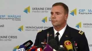 Lt.Gen. Ben Hodges   Commander U.S. Army Europe   In Ukraine, Press Conference   21JAN 2015