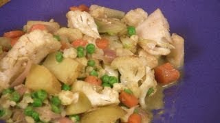 Curried Cauliflower And Veggies