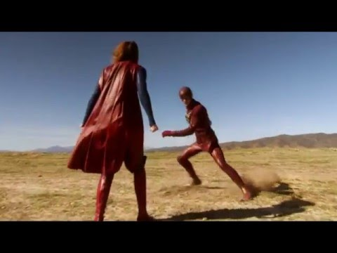 Supergirl/ Flash Music Video