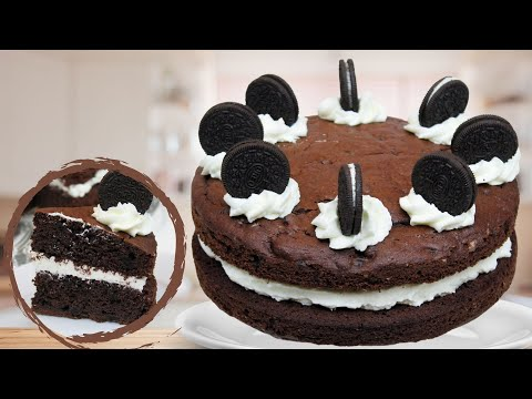 Cookies and Cream Cake mit Oreos