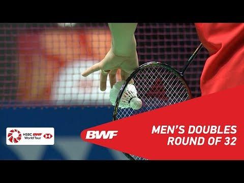 R32 | MD | GIDEON/SUKAMULJO (INA) [1] vs LIU/ZHANG (CHN) | BWF 2019