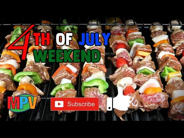 4th of July Weekend - Shish kabob's and Stain (7.4.19) #1265